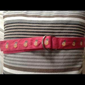 J Crew vintage pineapple belt